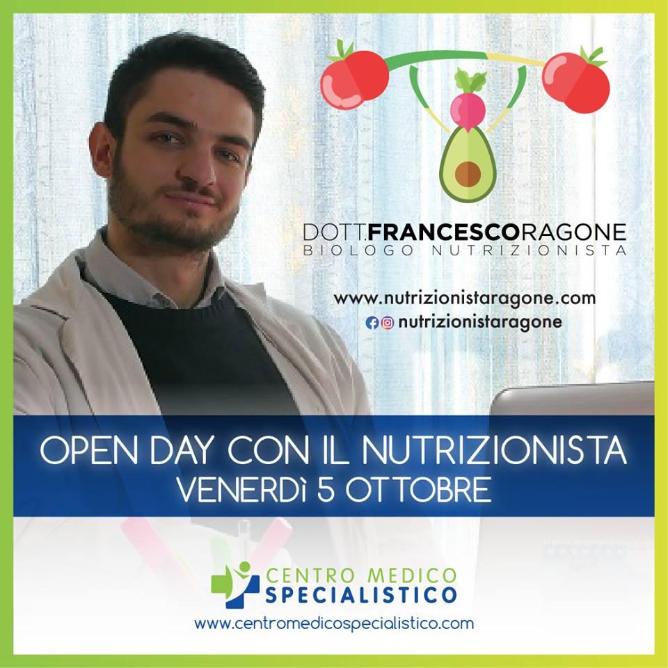 Open Day con il Nutrizionista