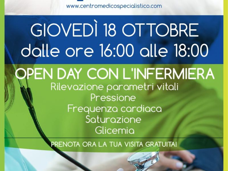 Open Day con l'Infermiera