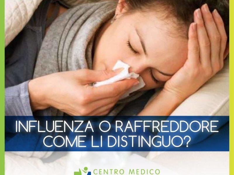 Influenza o raffreddore? Come riconoscerli