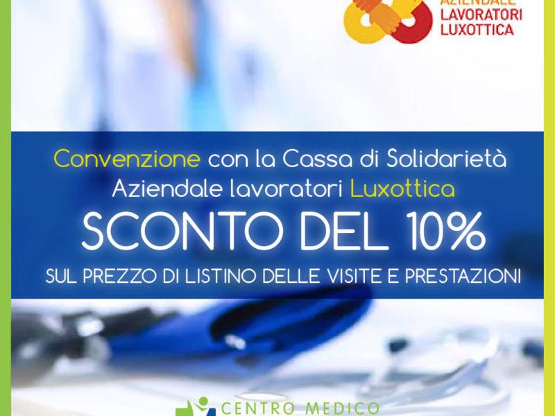 Convenzione Lavoratori Luxottica