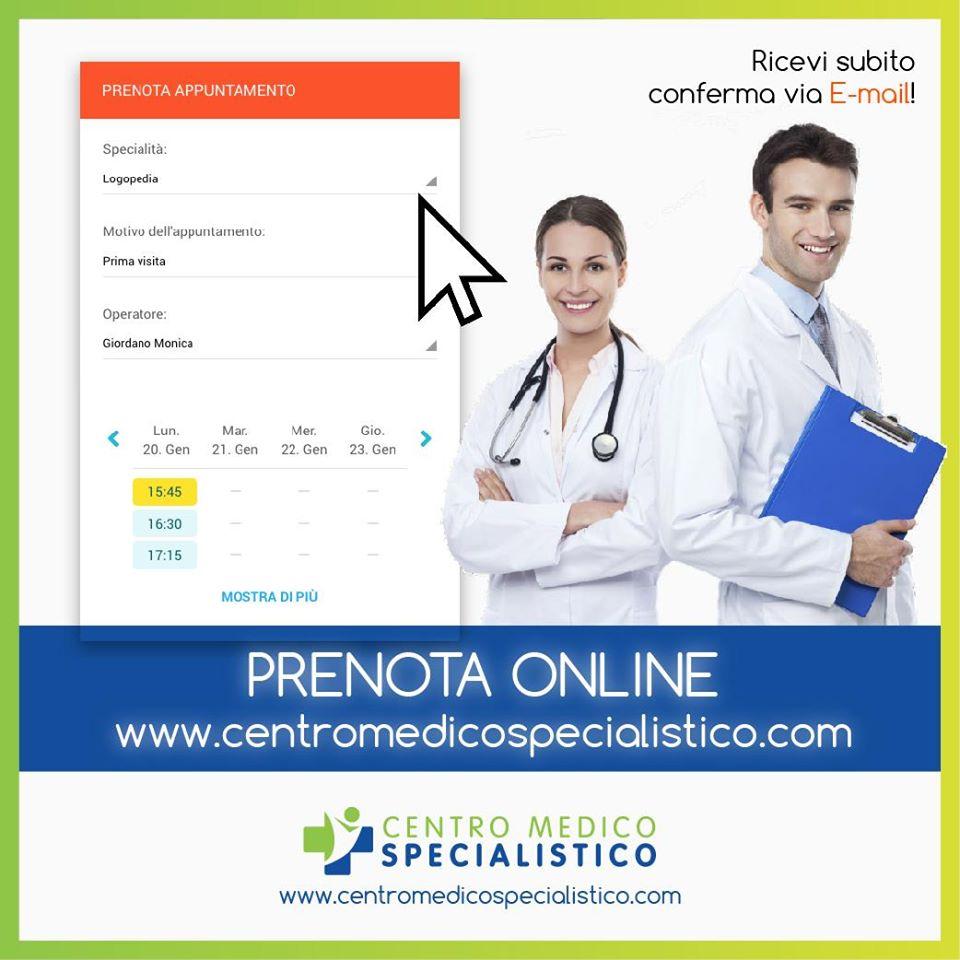Visita Medica: prenota online!