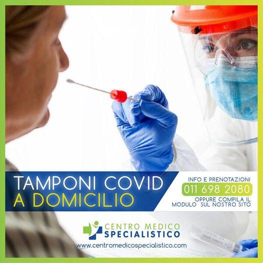 Test Covid a Domicilio: prenota subito