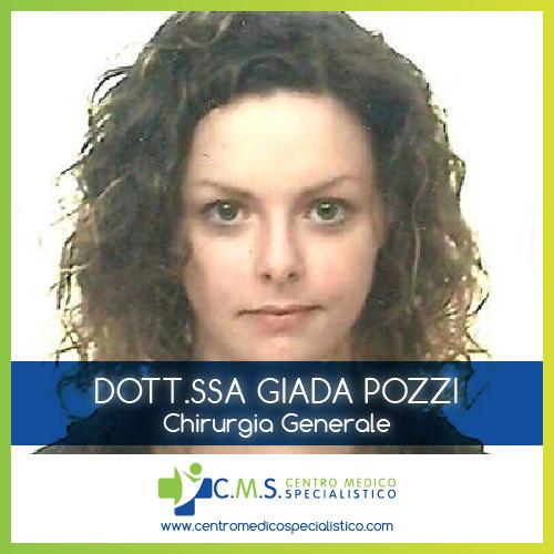 Senologia, Chirurgia senologica, Chirurgia Generale: Dott.ssa Giada Pozzi