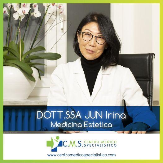 MEDICINA ESTETICA con la Dottoressa JUN Irina CMS Chivasso